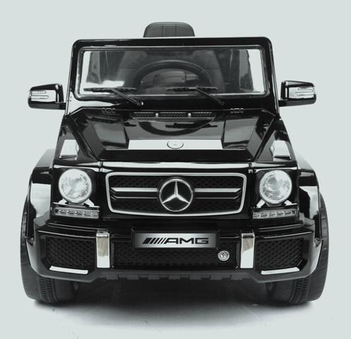 Masinuta electrica cu telecomanda Mercedes G63 Neagra