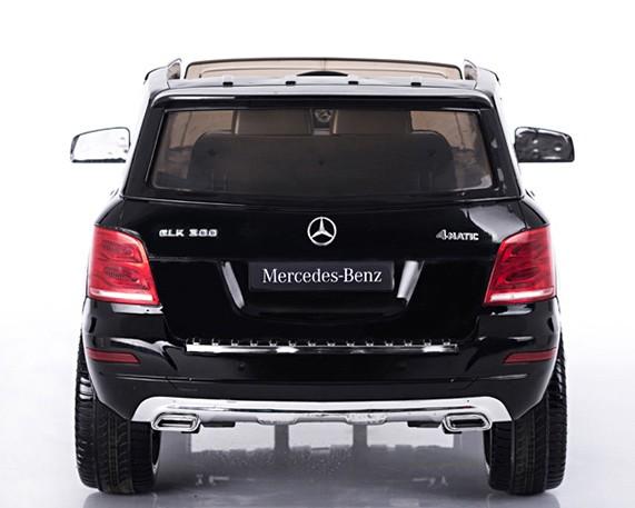 Masinuta electrica cu telecomanda si roti din cauciuc Mercedes Benz GLK-Class Neagra