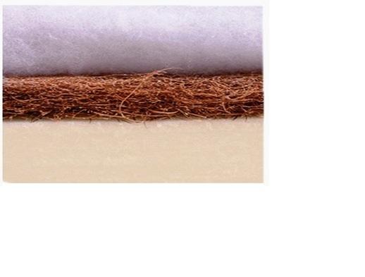 Saltea pentru patut Cocos Aloe Vera 120x60x10 cm