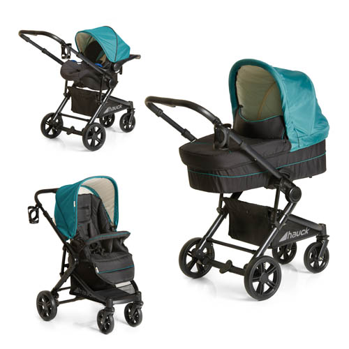 Set carucior Atlantic Plus Trio Set Everglade
