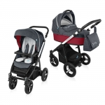 Carucior Multifunctional 2 in 1 Baby Design Husky WP 02 red 2016