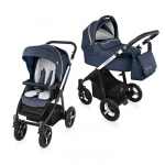 Carucior Multifunctional 2 in 1 Baby Design Husky WP 03 Navy 2016
