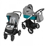 Carucior Multifunctional 2 in 1 Baby Design Husky WP 05 Turqouise 2016