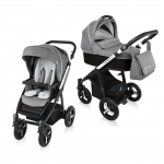 Carucior Multifunctional 2 in 1 Baby Design Husky WP 10 Black 2016