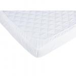 Cearceaf cu elastic pentru patut de 120x60 cm alb