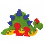 Jucarie Fauna Dinozaur Stegosaurus din lemn