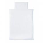 Lenjerie pat white 100/135 cm