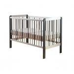 Patut bebelusi transformabil 120 x 60 cm Zebra