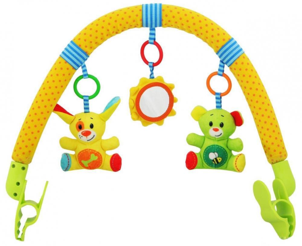 Arcada cu jucarii Lovely Animals din categoria Carucioare Copii de la BABY MIX