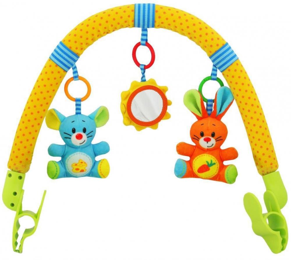Arcada cu jucarii Lovely Colours din categoria Carucioare Copii de la BABY MIX
