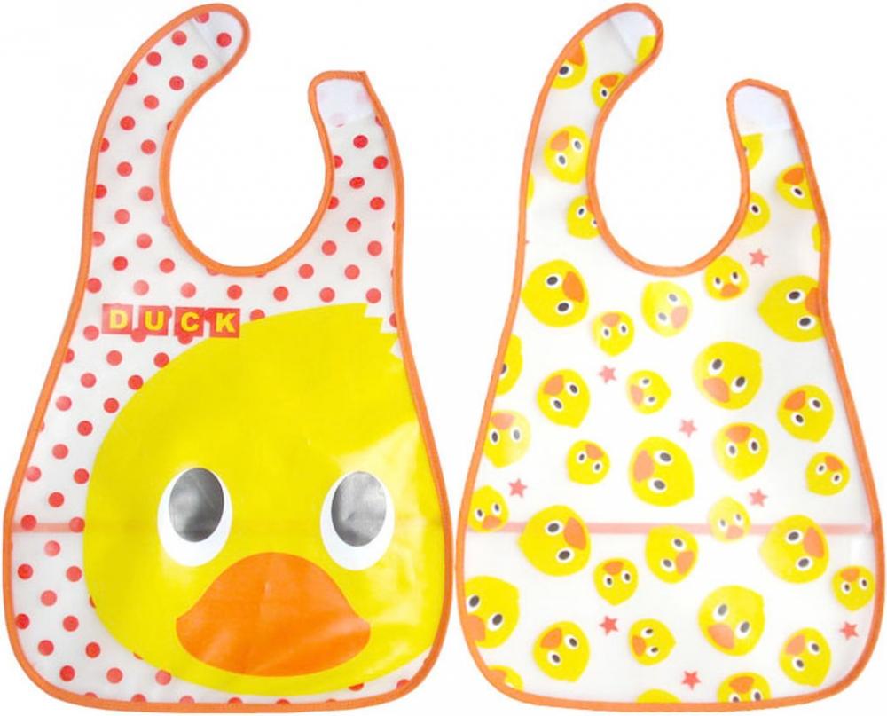 Baveta Plastic Moale 2set 45x29 Cm Duck Fillikid