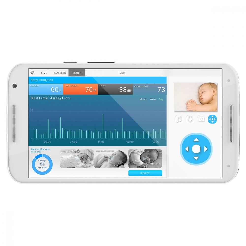 Camera supraveghere video MBP87 Motorola Smart Nursery