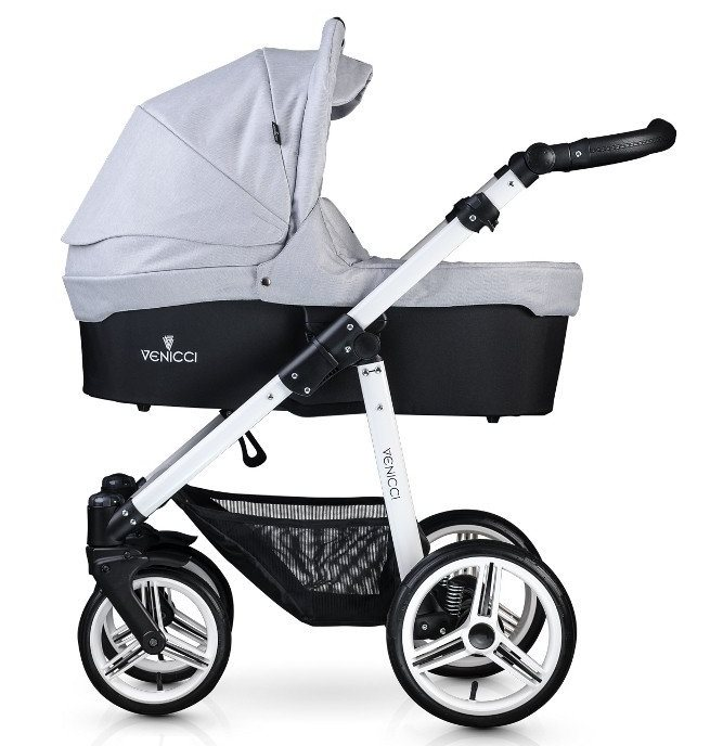 Carucior 2 in 1 Venicci Light Grey