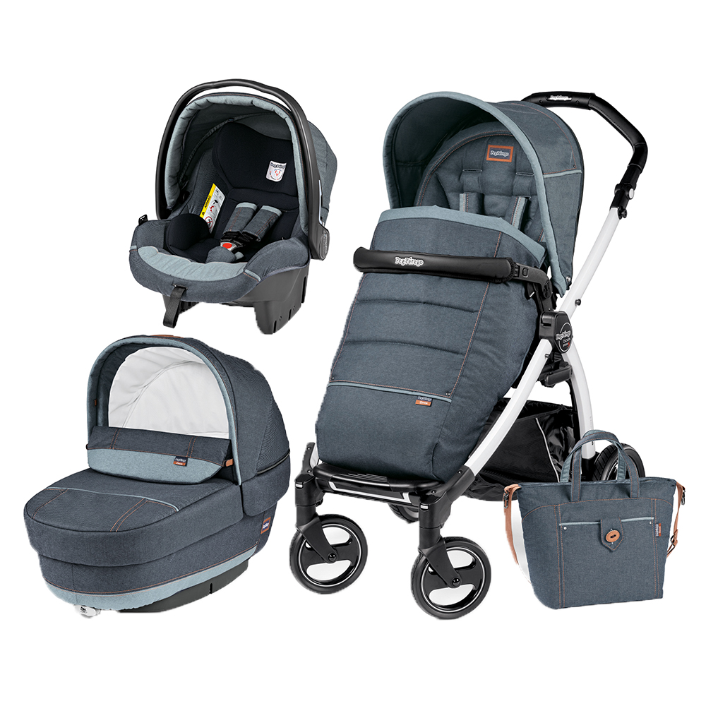 Carucior 3 In 1 Peg Perego Book Plus S Blackwhite