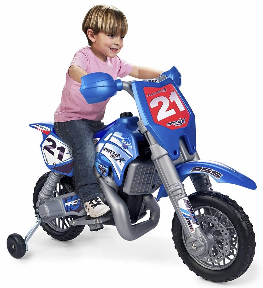 Motocicleta electrica cu casca Cross Moto X