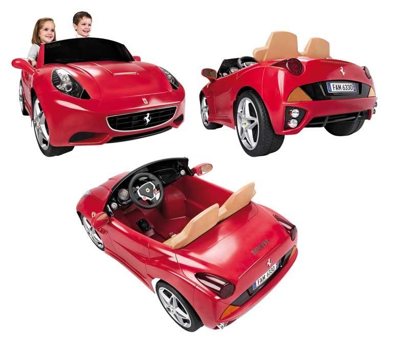 Masinuta electrica cu doua locuri Ferrari California 12V