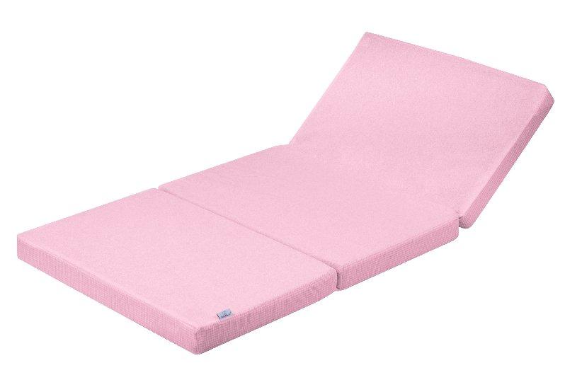 Saltea Pliabila Cu Husa Impermeabila Ressi Pink