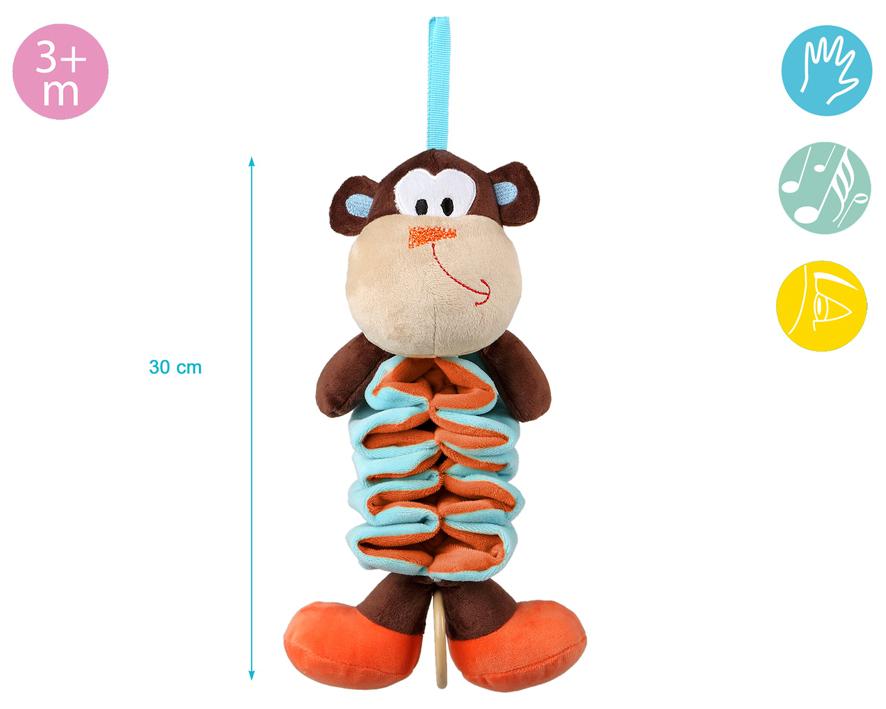 Jucarie Plus Muzicala Spirala Maimutica