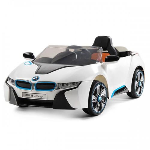 Masinuta electrica cu telecomanda Chipolino BMW I8 Concept white