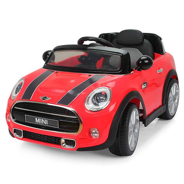 Masinuta electrica cu telecomanda Chipolino Mini Cooper Hatch red