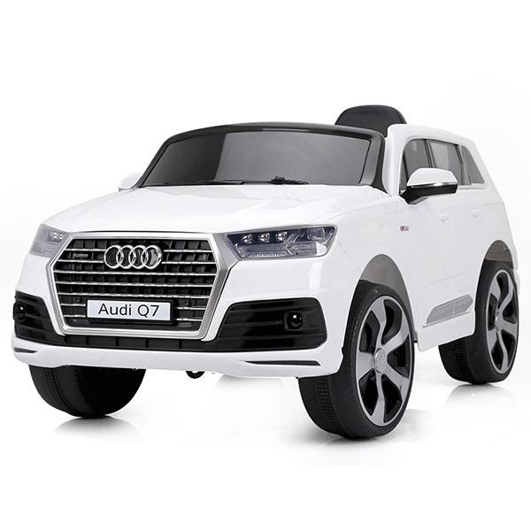 Masinuta electrica cu telecomanda Chipolino SUV Audi Q7 white