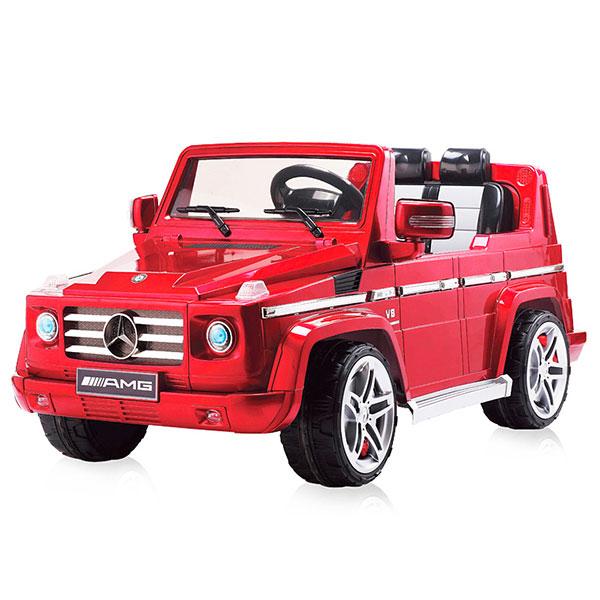 Masinuta Electrica Cu Telecomanda Chipolino Suv Mercedes Benz G55 Red