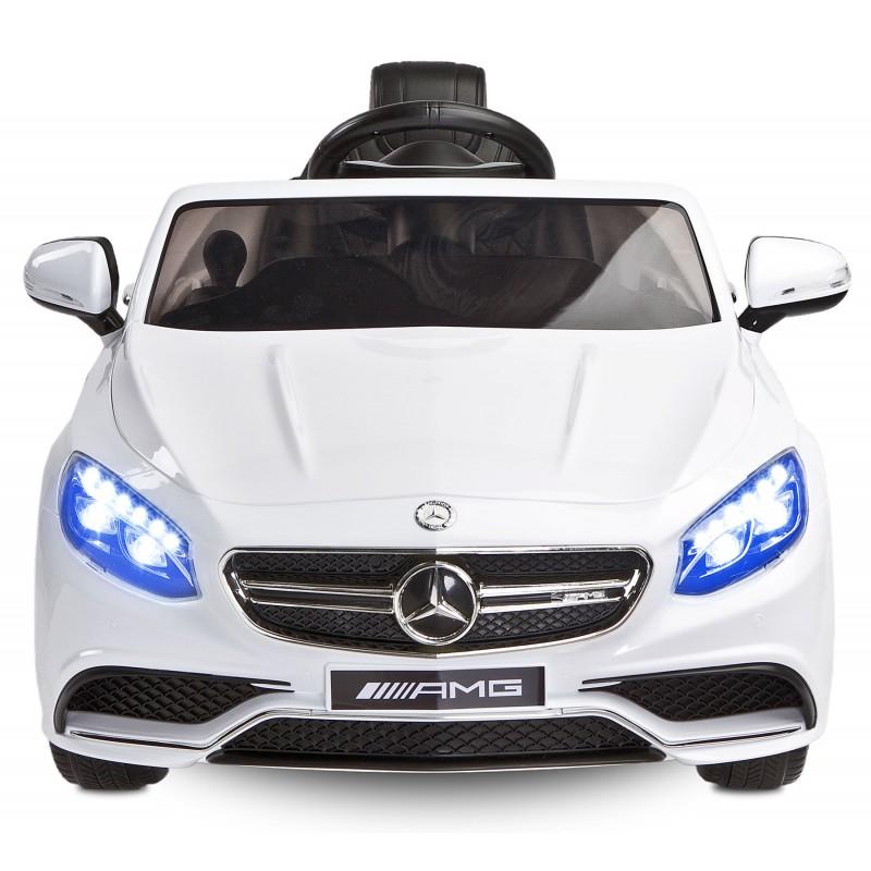 Masinuta electrica Toyz Mercedes-Benz S63 AMG 12V white - 1