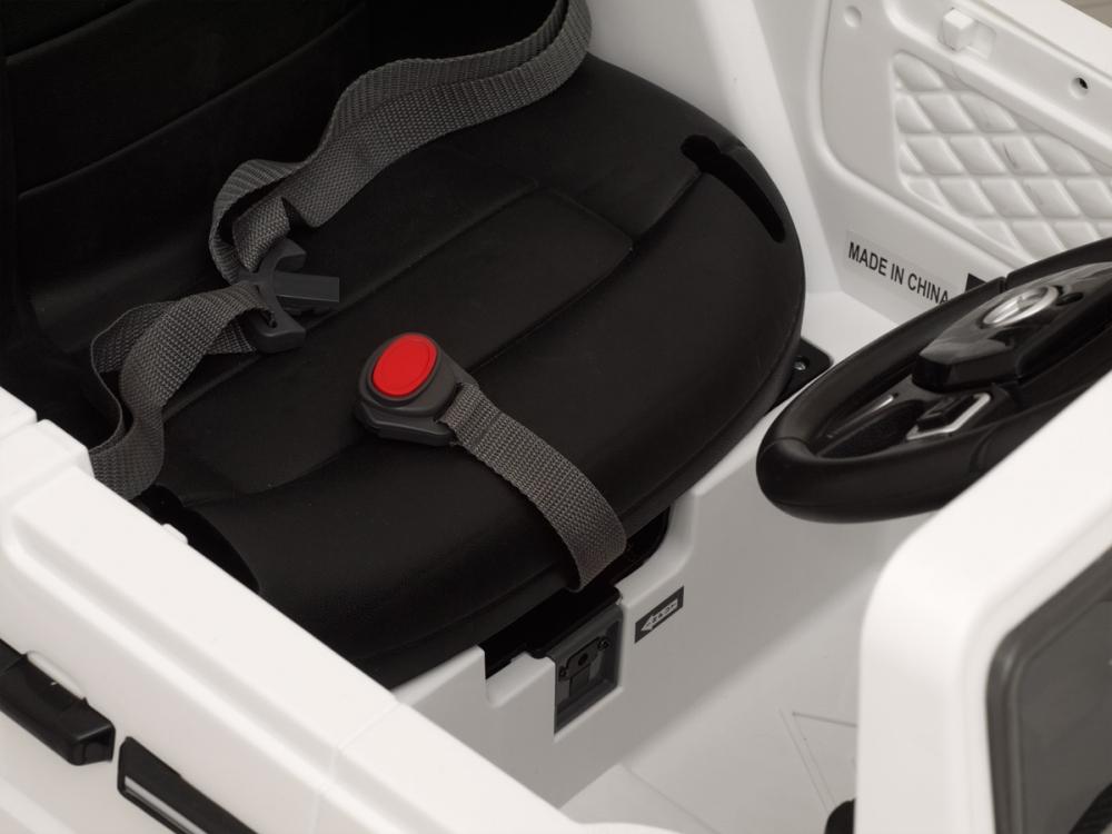 Masinuta electrica cu telecomanda Mercedes Benz G63 Alb - 3