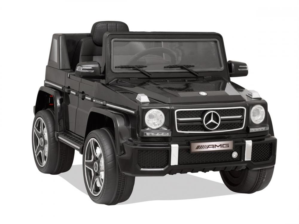 Masinuta electrica cu telecomanda Mercedes Benz G63 Negru - 5