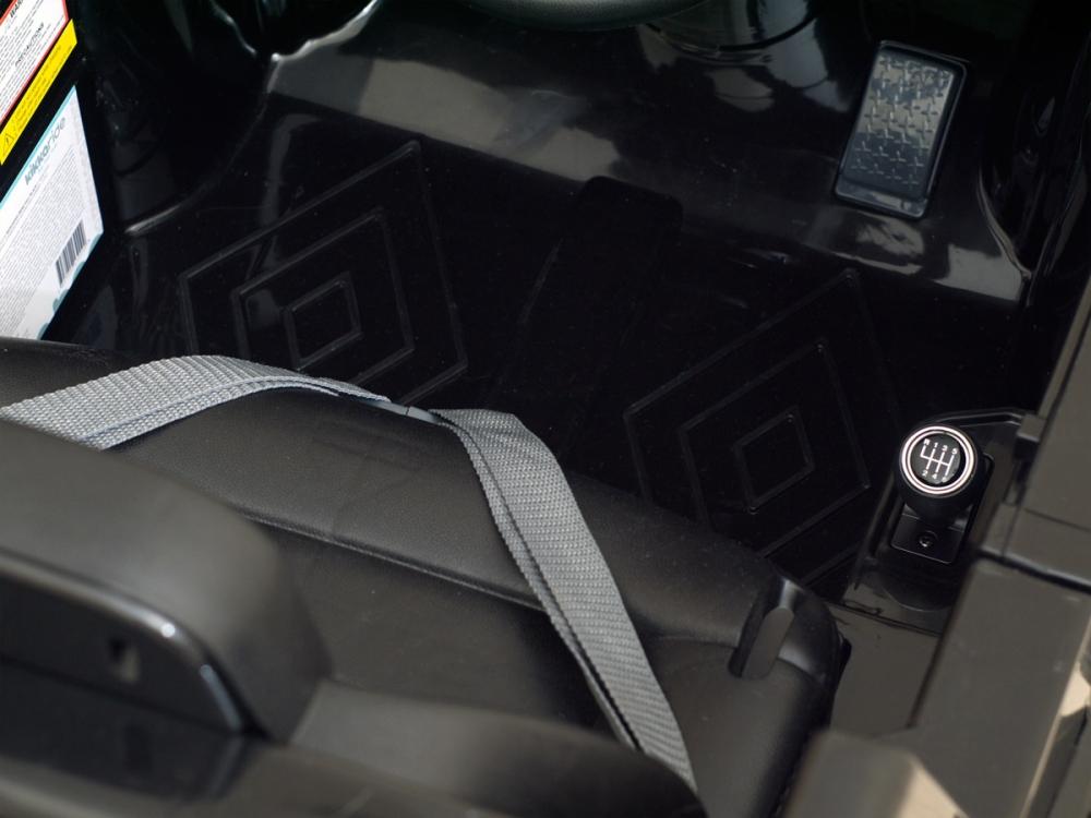 Masinuta electrica cu telecomanda Mercedes Benz G63 Negru - 4
