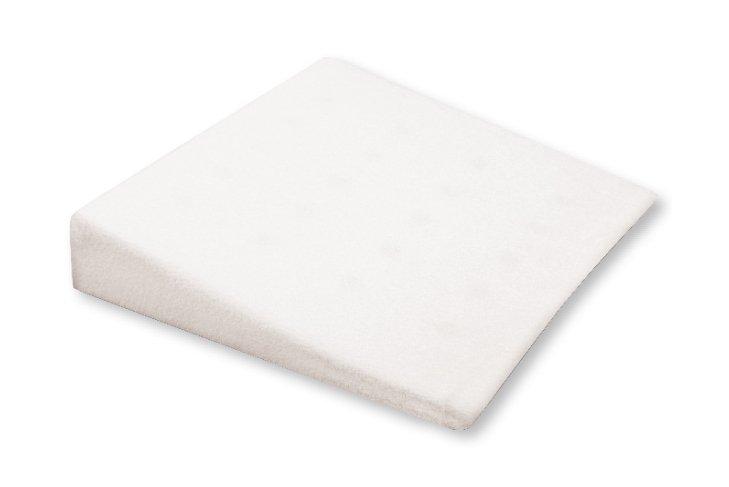 Perna plan inclinat Baby Matex Klin 40x36 cm White