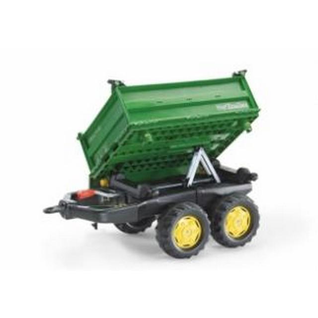 Remorca Mega Trailer Rolly Toys Verde imagine