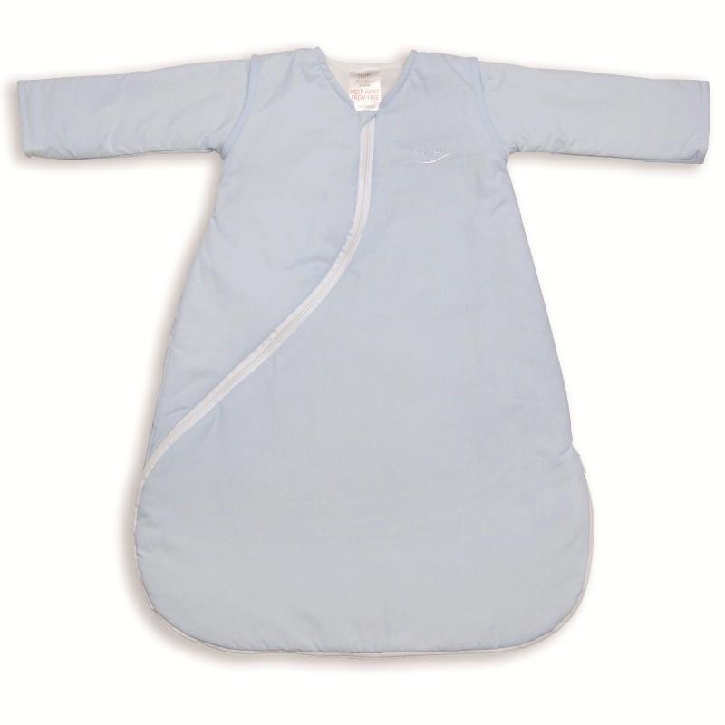 Sac de dormit PurFlo uni 3-9 luni (75 cm) culoare bleu
