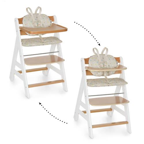 Scaun masa din lemn Beta+B WhiteNatur