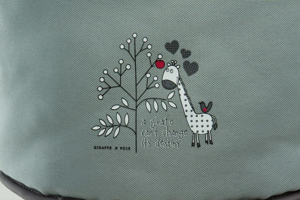 Scaunel de prins la masa Girafa Grey Fillikid