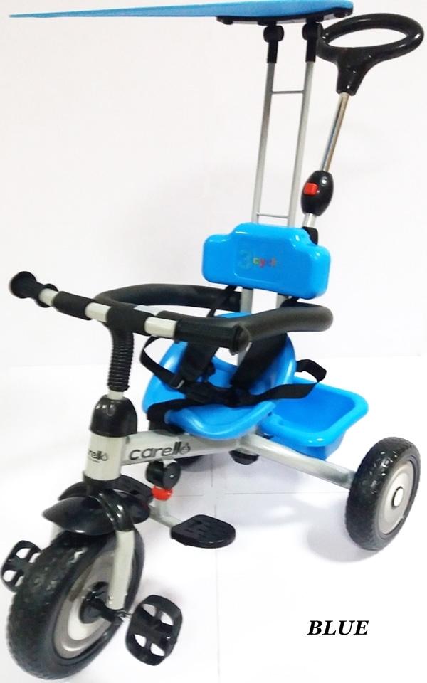 Tricicleta 3cycle Carello Bleu