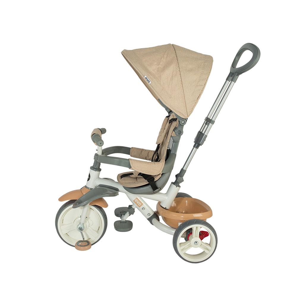 Tricicleta Coccolle Evo Bej