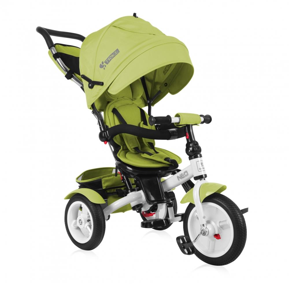Tricicleta pentru copii Neo Air Green
