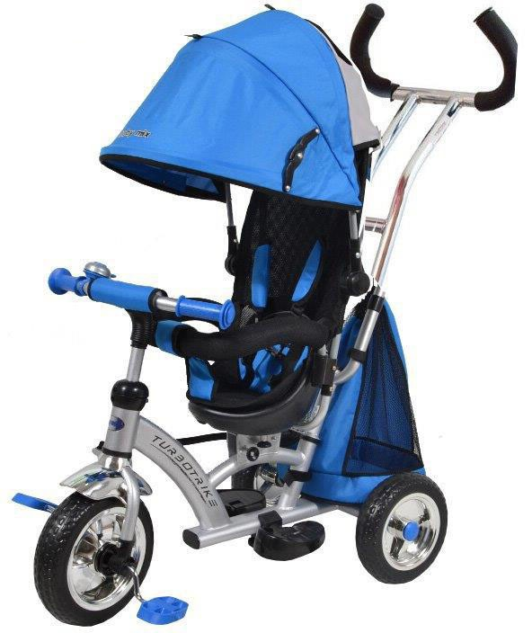 Tricicleta cu sezut reversibil Sunrise Turbo Trike Blue imagine