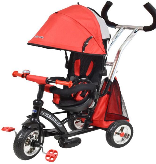Tricicleta cu sezut reversibil Sunrise Turbo Trike Red imagine