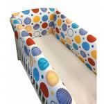 Aparatori Maxi bulinute colorate 140x70 cm