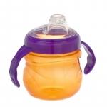 Cana cu manere KidiSipper Tubby 6+ portocaliu