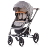 Carucior Chipolino Malta 3 in 1 light grey