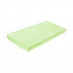Cearceaf din velur cu elastic 120x60 cm Green 40