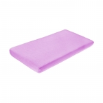 Cearceaf din velur cu elastic 120x60 cm Purple 19