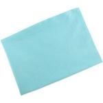 Cearceaf din velur cu elastic 120x60 cm Turquoise