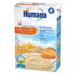 Cereale cu lapte Humana cu 5 cereale si biscuiti 200g 6 luni+