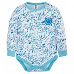 Body cu maneca lunga Prima Blue 80
