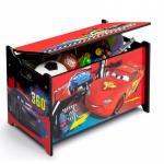 Ladita din lemn pentru depozitare jucarii Disney Lightning McQueen