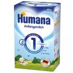 Lapte praf Humana 1 de la nastere 300 g